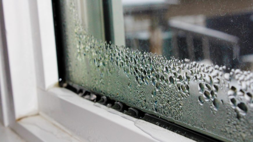 Avoiding Window Condensation in the Winter Months
